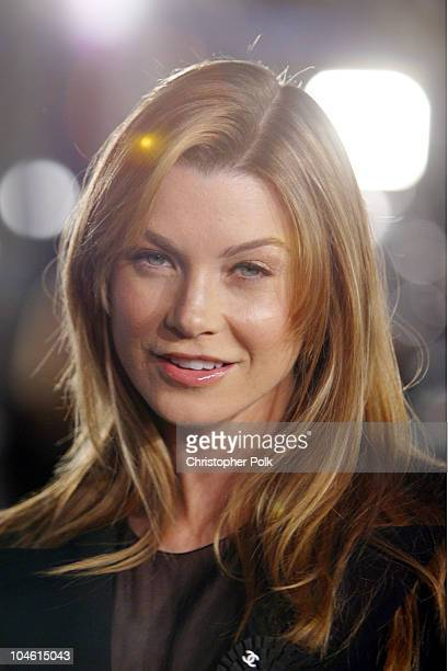 Ellen Pompeo during DreamWorks Premiere of Catch Me If You Can at Mann Village Theatre in Westwood, CA, United States.