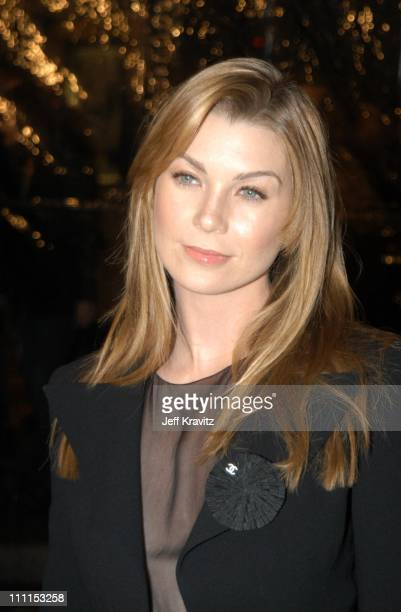 Ellen Pompeo during Dreamworks Premiere of Catch Me If You Can at Mann Village Theater in Westwood, California, United States.
