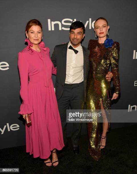 Ellen Pompeo honoree Harry Josh and Kate Bosworth attend the Third Annual 'InStyle Awards' presented by InStyle at The Getty Center on October 23...