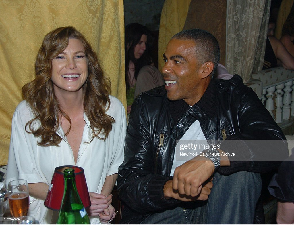 Ellen Pompeo (Grays Anatomy) with fiance Chris Ivery (music Pictures ...