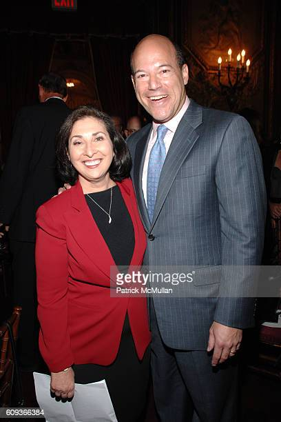 Ellen Ratner and Ari Fleischer attend Lighthouse International hosts The Henry A Grunwald Award for Public Service honoring Pete Peterson Sergeant...