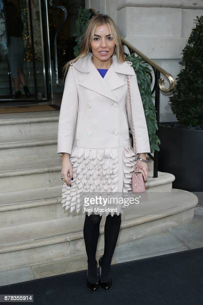 Ellen Rivas attends the Caudwell Children Ladies Lunch at The Langham Hotel on November 24 2017 in London England