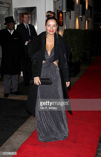 Ellen Rivas attends the Daily Mail Inspirational Woman of The Year Awards at London Marriott Hotel on January 18 2012 in London England