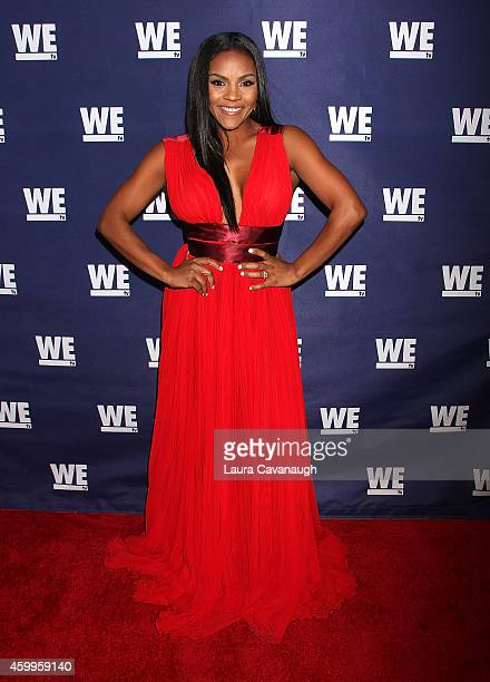Ellen Rucker Carter attends SWV Love Thy Sister And Match Made In Heaven Red Carpet Event at 54 Below on December 4 2014 in New York City