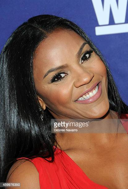 Ellen Rucker Carter attends 'SWV' 'Love Thy Sister' And 'Match Made In Heaven' Red Carpet Event at 54 Below on December 4 2014 in New York City