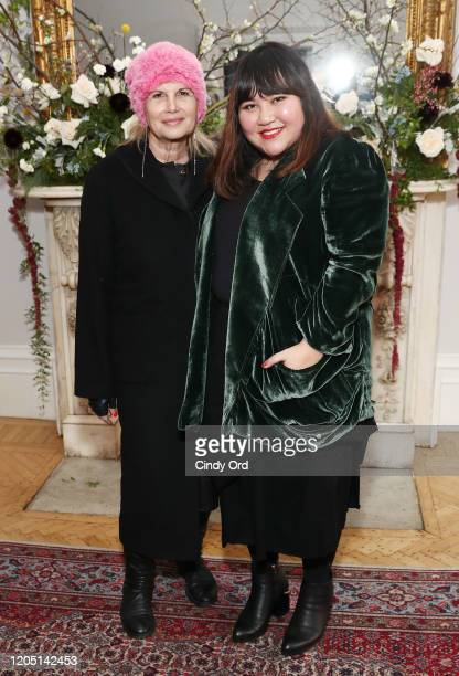 Ellen Salpeter and Jasmine Chong attend the Jasmine Chong runway show during New York Fashion Week on February 09 2020 in New York City
