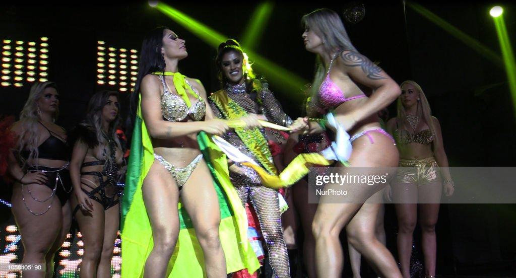 Miss Bumbum Brazil 2018 : News Photo