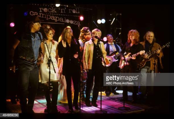 ELLEN Ellen Unplugged Airdate February 5 1997 AARON NEVILLEJOELY FISHERSHERYL CROWELLEN DEGENERESBONNIE RAITTDAVID CROSBY BACKGROUND DAVID
