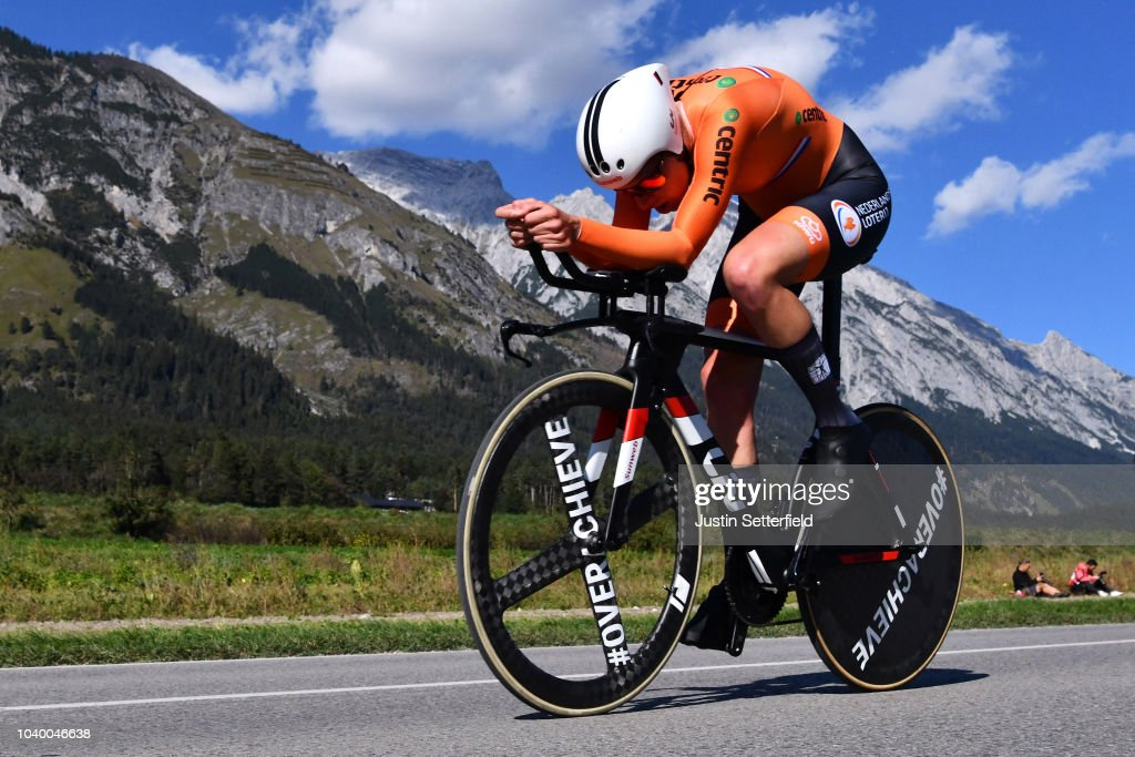 91st UCI Road World Championships 2018 - Women Elite Individual Time Trial : News Photo