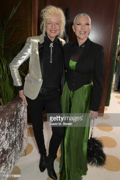 Ellen von Unwerth and Maye Musk attend the MAISONDEMODECOM Sustainable Style Gala at The Sunset Tower on February 23 2019 in Los Angeles California