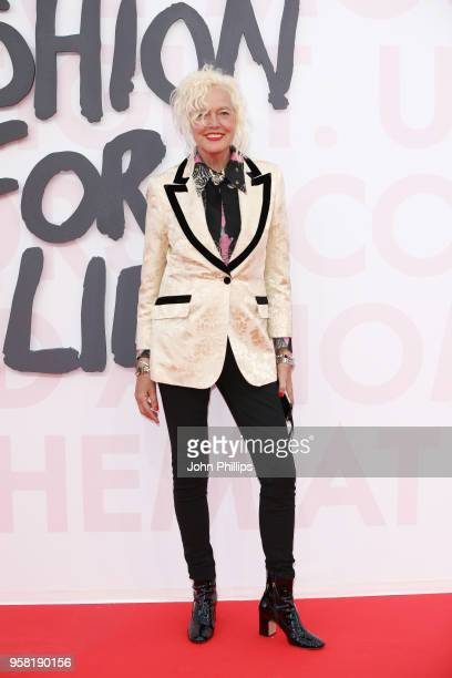 Ellen von Unwerth attends Fashion for Relief Cannes 2018 during the 71st annual Cannes Film Festival at Aeroport Cannes Mandelieu on May 13 2018 in...