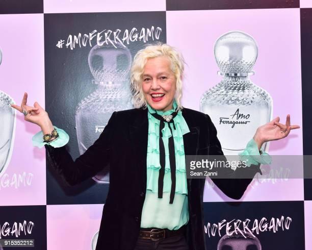 Ellen von Unwerth attends Salvatore Ferragamo Suki Waterhouse celebrate AMO Ferragamo on February 6 2018 in New York City