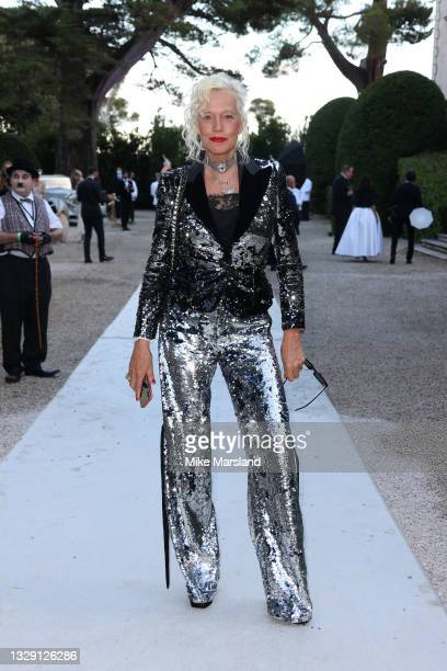 Ellen von Unwerth attends the amfAR Gala 2021 presented by The Red Sea International Film Festival during the 74th annual Cannes Film Festival on...