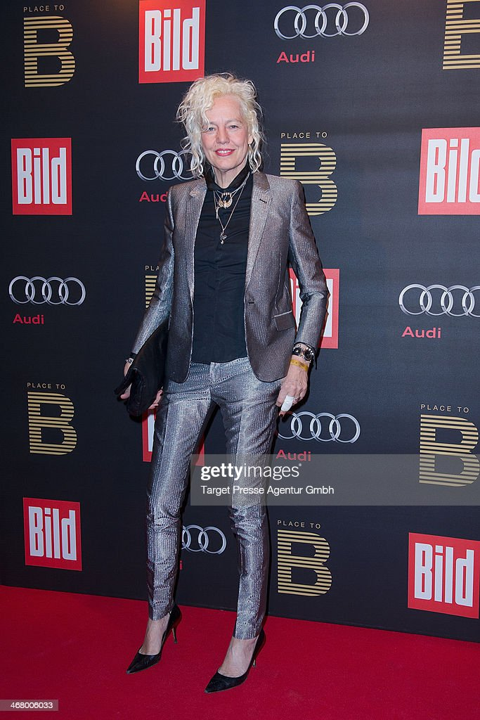 Ellen von Unwerth attends the BILD 'Place to B' Party at Grill Royal on February 8, 2014 in Berlin, Germany.