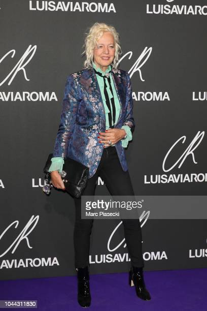 Ellen von Unwerth attends the CR Fashion Book x LuisaViaRoma Photocall as part of the Paris Fashion Week Womenswear Spring/Summer 2019 on October 1...
