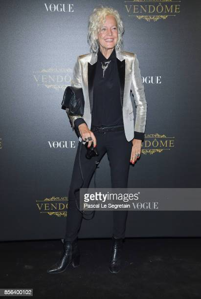Ellen Von Unwerth attends the Irving Penn Exhibition Private Viewing Hosted by Vogue as part of the Paris Fashion Week Womenswear Spring/Summer 2018...