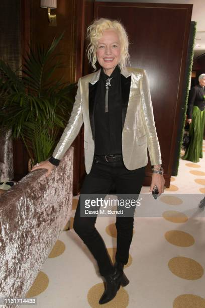 Ellen von Unwerth attends the MAISONDEMODECOM Sustainable Style Gala at The Sunset Tower on February 23 2019 in Los Angeles California