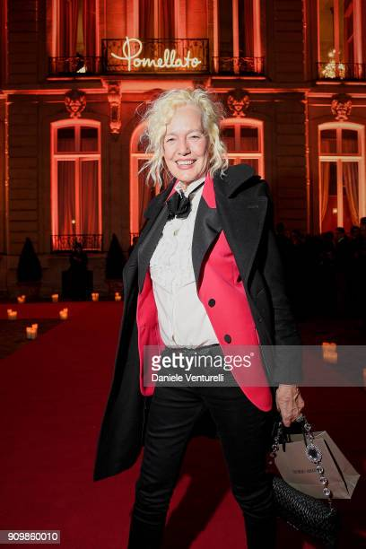 Ellen von Unwerth attends the Pomellato after party for the new campaign launch with Chiara Ferragni as part of Paris Fashion Week during...