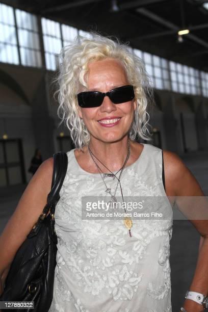 Ellen Von Unwerth attends the Sonia Rykiel Ready to Wear Spring / Summer 2012 show during Paris Fashion Week at Halle Freyssinet on October 1, 2011...