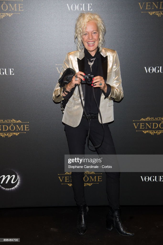 Vogue Party : Photocall - Paris Fashion Week Womenswear S/S 2018