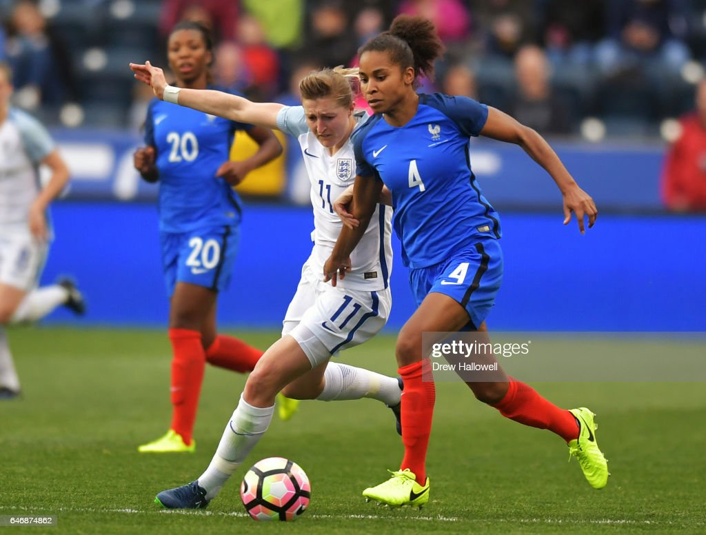 England v France - SheBelievesCup 2017