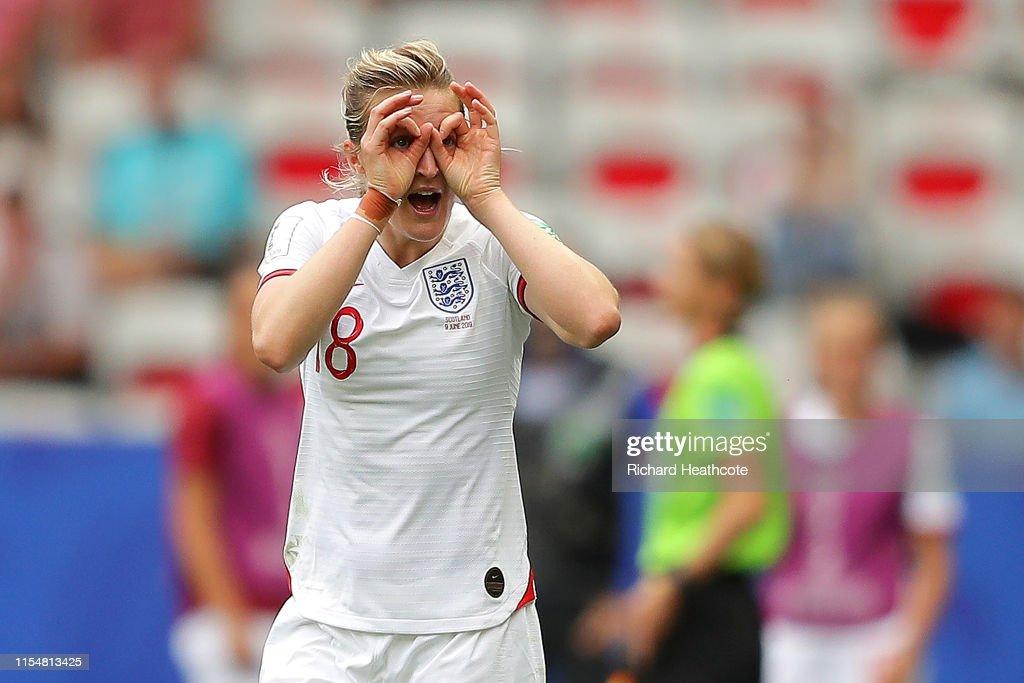 England v Scotland: Group D - 2019 FIFA Women's World Cup France : ニュース写真