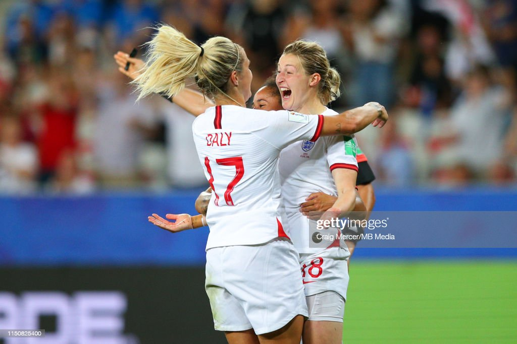 Japan v England: Group D - 2019 FIFA Women's World Cup France : News Photo
