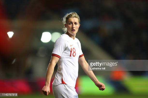 Ellen White of England during the International Friendly between England Women and Canada Women at The Academy Stadium on April 05 2019 in Manchester...