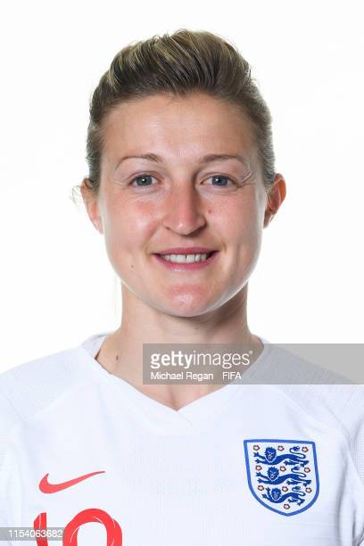 Ellen White of England poses for a portrait during the official FIFA Women's World Cup 2019 portrait session at Radisson Blu Hotel Nice on June 06,...