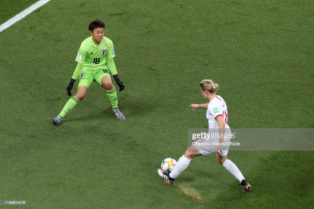 Japan v England: Group D - 2019 FIFA Women's World Cup France : Nachrichtenfoto