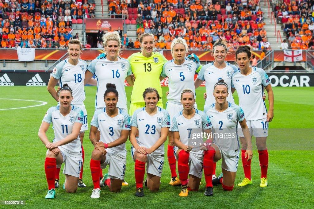 "UEFA WEURO 2017""Women: The Netherlands v England"" : News Photo"