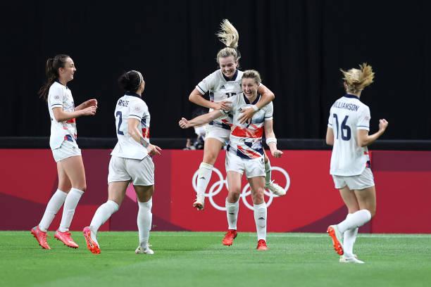 JPN: Japan v Great Britain: Women's Football - Olympics: Day 1