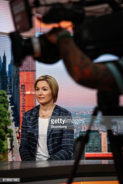 Ellen Zentner managing director and chief US economist for Morgan Stanley Co speaks during a Bloomberg Television interview in New York US on Tuesday...