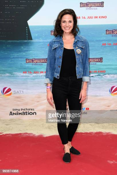 Ellenie Salvo Gonzale attends the 'Hotel Transsilvanien 3' premiere at CineStar on July 8 2018 in Berlin Germany