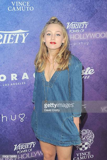 Ellery Sprayberry attends Variety's Power of Young Hollywood at NeueHouse Los Angeles on August 16 2016 in Hollywood California