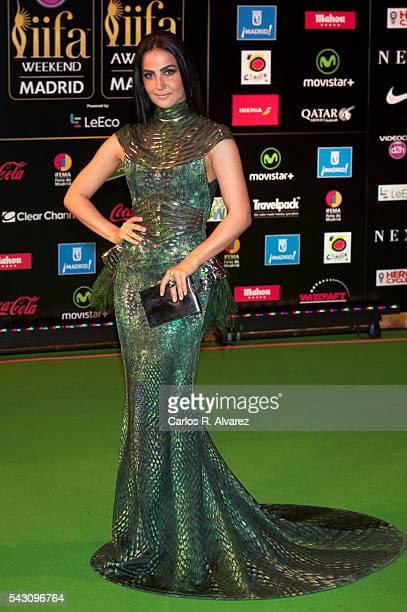 Elli Avram attends the 17th IIFA Awards at Ifema on June 25 2016 in Madrid Spain