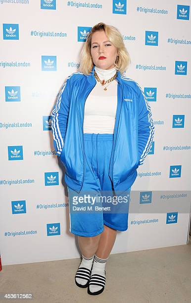 Elli Ingram attends the launch of the new adidas Originals London Flagship store at 15 Foubert's Place on August 14 2014 in London England