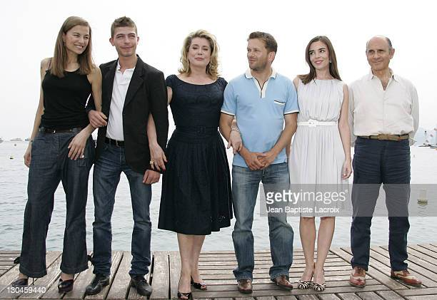 Elli Medeiros, Thomas Dumerchez, Catherine Deneuve, Gael Morel, Elodie Bouchez and Guy Marchand