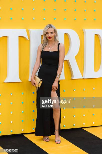 Ellie Adams attends the UK film premiere of 'Yesterday' at the Odeon Luxe, Leicester Square on 18 June, 2019 in London, England.
