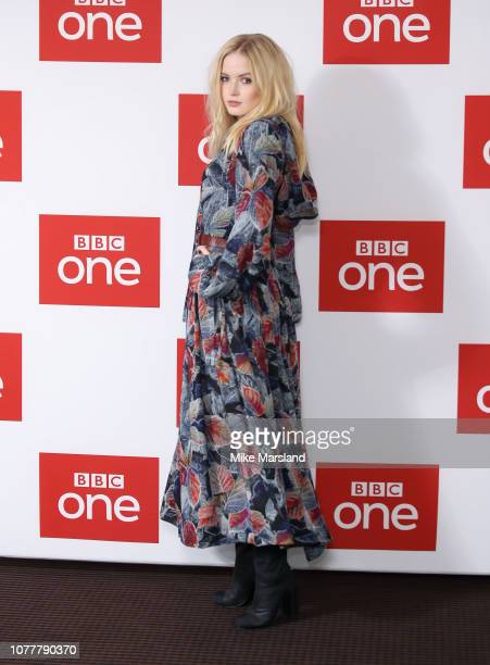 Ellie Bamber attends a photocall for BBC One's Les Miserables at BAFTA on December 05 2018 in London England