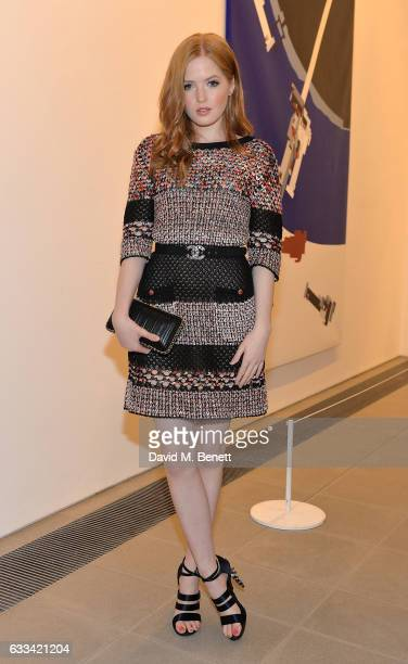 Ellie Bamber attends as PORTER hosts the first of their 'Incredible Women' Talks supported by Mark's Club at The Serpentine Sackler Gallery on...