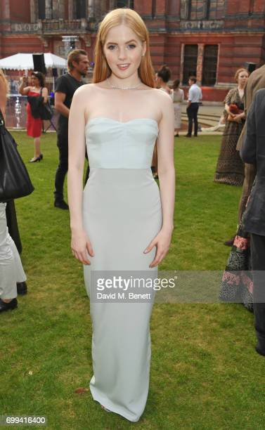 Ellie Bamber attends the 2017 annual VA Summer Party in partnership with Harrods at the Victoria and Albert Museum on June 21 2017 in London England