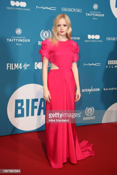 Ellie Bamber attends the 21st British Independent Film Awards at Old Billingsgate on December 2 2018 in London England