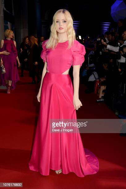 Ellie Bamber attends the 21st British Independent Film Awards at Old Billingsgate on December 02 2018 in London England