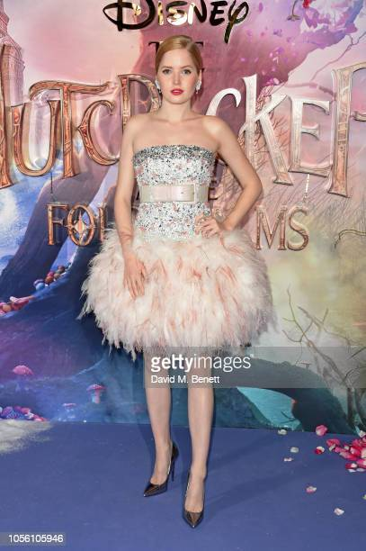 Ellie Bamber attends the European Premiere of Disney's 'The Nutcracker And The Four Realms' at Vue Westfield on November 1 2018 in London England