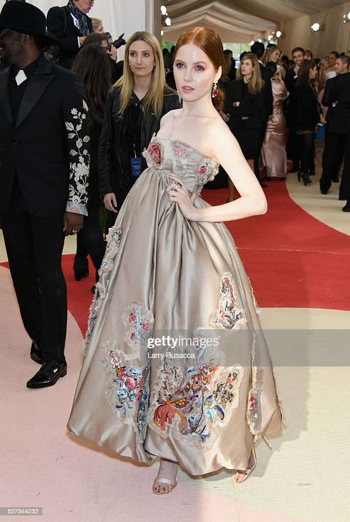 Ellie Bamber Attends The Manus X Machina Fashion In An Age