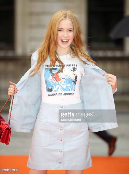 Ellie Bamber attends the preview party for the Royal Academy Summer Exhibition at Royal Academy of Arts on June 7 2017 in London England