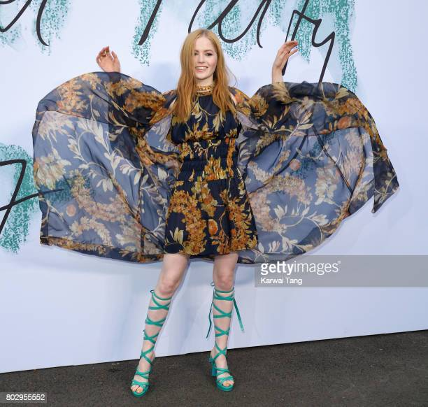 Ellie Bamber attends The Serpentine Gallery Summer Party at The Serpentine Gallery on June 28 2017 in London England