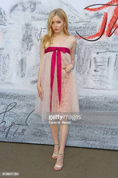 Ellie Bamber attends the Serpentine Summper Party 2018 at The Serpentine Gallery on June 19 2018 in London England