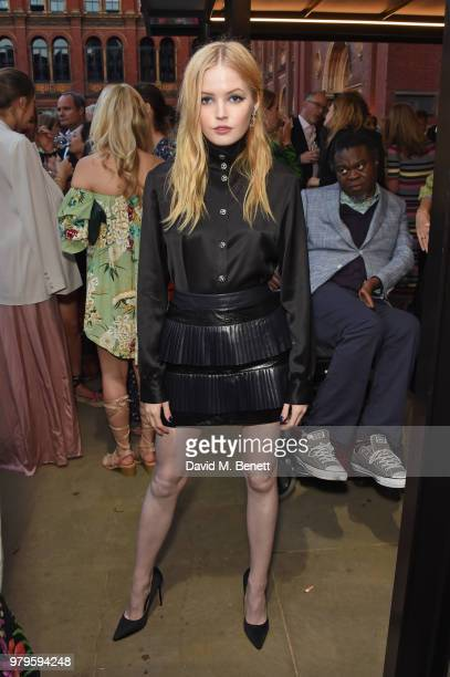 Ellie Bamber attends the Summer Party at the VA in partnership with Harrods at the Victoria and Albert Museum on June 20 2018 in London England